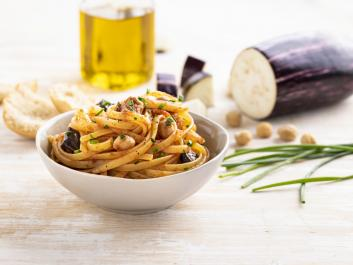 Linguine d'autunno